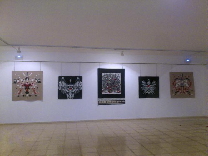Exposición en la Sala Angel Botello de Cangas. Casa de la Cultura.